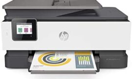 HP OfficeJet Professional 8025 All-in-One Wi-fi Printer, with Sensible Duties for Dwelling Workplace Productiveness & By no means Run Out of Ink with HP Instantaneous Ink (1KR57A) (Renewed)