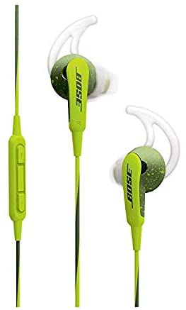 Bose SoundSport in-Ear Headphones for Apple Devices – Wired (Energy Green)