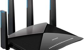 NETGEAR Nighthawk X10 Smart WiFi Router (R9000) – AD7200 Wireless Speed (up to 7200 Mbps) for 60Ghz WiFi Devices   Up to 2500 sq ft Coverage   6 x 1G Ethernet, 1 x 10G SFP+, and 2 USB ports