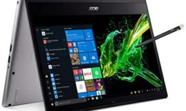 Acer Spin 3 Convertible Laptop, 14″ Full HD IPS Touch, 8th Gen Intel Core I5-8265U, 8GB DDR4, 256GB PCIe Nvme SSD, Rechargeable Active Stylus, Windows 10 Home, SP314-53N-53SH, 14-14.99 inches