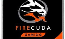 Seagate Firecuda Gaming SSHD (Solid State Hybrid Drive) 1TB – 7200 RPM SATA 6GB/S 64MB Cache 3.5-Inch Hard Drive – Frustration Free Packaging  (ST1000DXZ02/DX002)