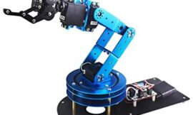 LewanSoul 6DOF Robotic Arm Kit for Arduino STEAM Robot Arm Kit with Handle PC Software and APP Control with Tutorial