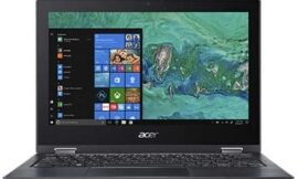 Acer Spin 1 SP111-33-P4VC 11.6″ Touchscreen LCD 2 in 1 Notebook – Intel Pentium Silver N5000 Quad-core (4 Core) 1.10 GHz – 4 GB LPDDR4-64 GB Flash Memory – Windows 10 Home in S Mode 64-bit – 13