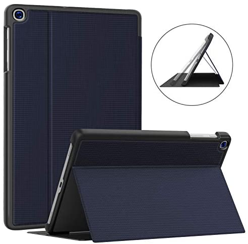 Soke Galaxy Tab A 10.1 Case 2019, Premium Shock Proof Stand Folio Case, Multi- Viewing Angles, Soft TPU Back Cover for Samsung Galaxy Tab A 10.1 inch Tablet [SM-T510/T515],Dark Blue