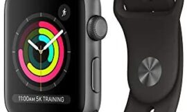AppleWatch Series3 (GPS, 42mm) – Space Gray Aluminium Case with Black Sport Band