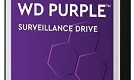 WD Purple 8TB Surveillance Internal Hard Drive – 7200 RPM Class, SATA 6 GB/S, 256 MB Cache, 3.5″ – WD82PURZ