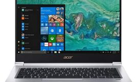 Acer Swift 3 SF314-55G-78U1 Laptop, 8th Gen Intel Core i7-8565U, NVIDIA GeForce MX150, 14″ Full HD, 8GB DDR4, 256GB PCIe SSD, Gigabit WiFi, Back-lit Keyboard, Windows 10