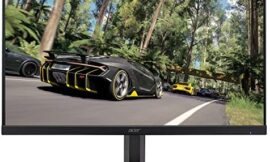Acer Gaming Monitor 27 Inches KG271 Cbmidpx 1920 x 1080 144Hz Refresh Rate AMD FREESYNC Technology (Display Port, HDMI & DVI Ports)