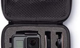AmazonBasics Extra Small GoPro And Accessories Case – 6.5 x 5 x 2.5 Inches, Black