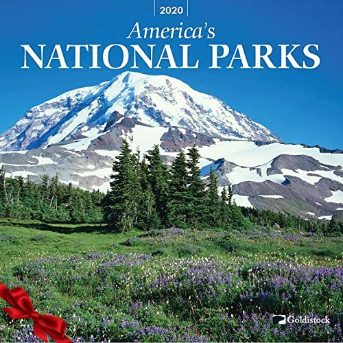 "Goldistock 2020 Large Wall Calendar -""National Parks"" – 12″ x 24″ (Open) – Thick & Sturdy Paper – Featuring Breathtaking Images of Our National Parks"