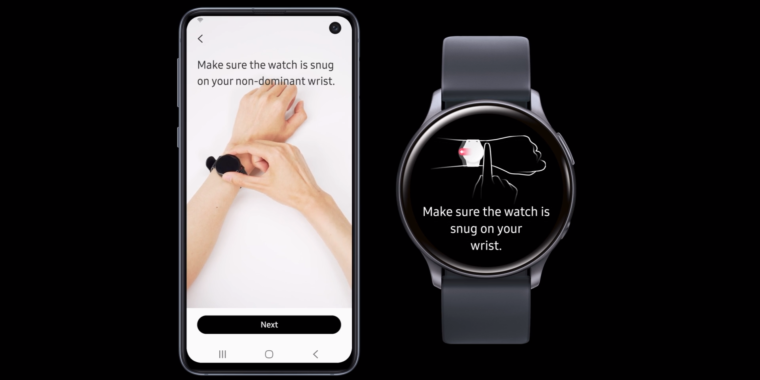 Samsung's Galaxy Watch Active2 can monitor your blood pressure