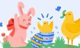 Google hides real Easter eggs for Easter, delivers AR Easter bunny