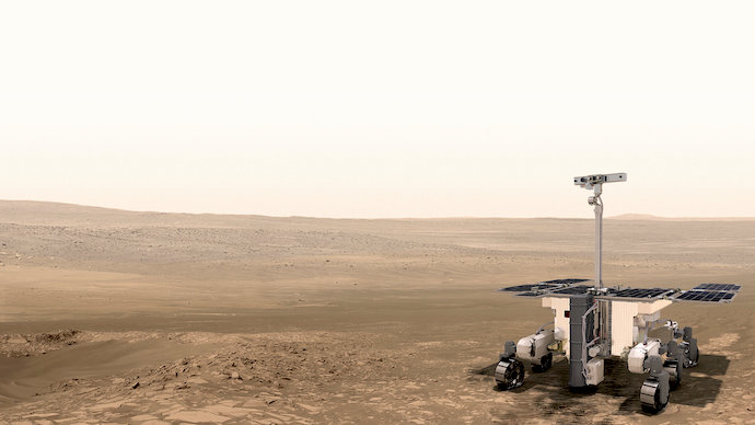 ExoMars Rover Launch Delayed Until 2022 For More Testing