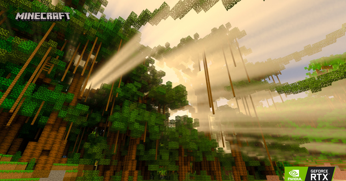 Minecraft's RTX-powered ray tracing arrives in beta later this week