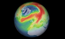 Weird, record-breaking Arctic ozone hole heals itself up