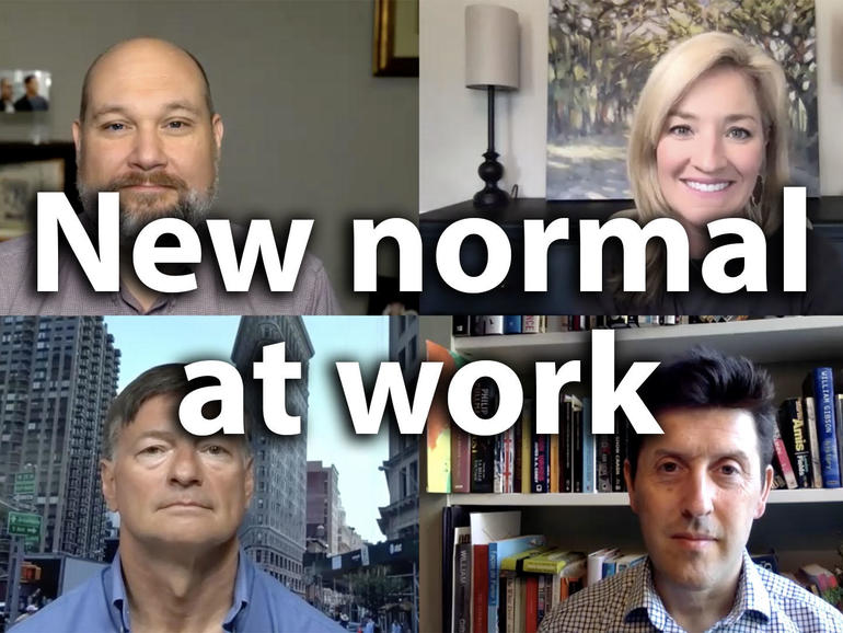 More data is needed to define our new normal for work