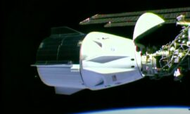 For first time, astronauts reach space station in SpaceX capsule