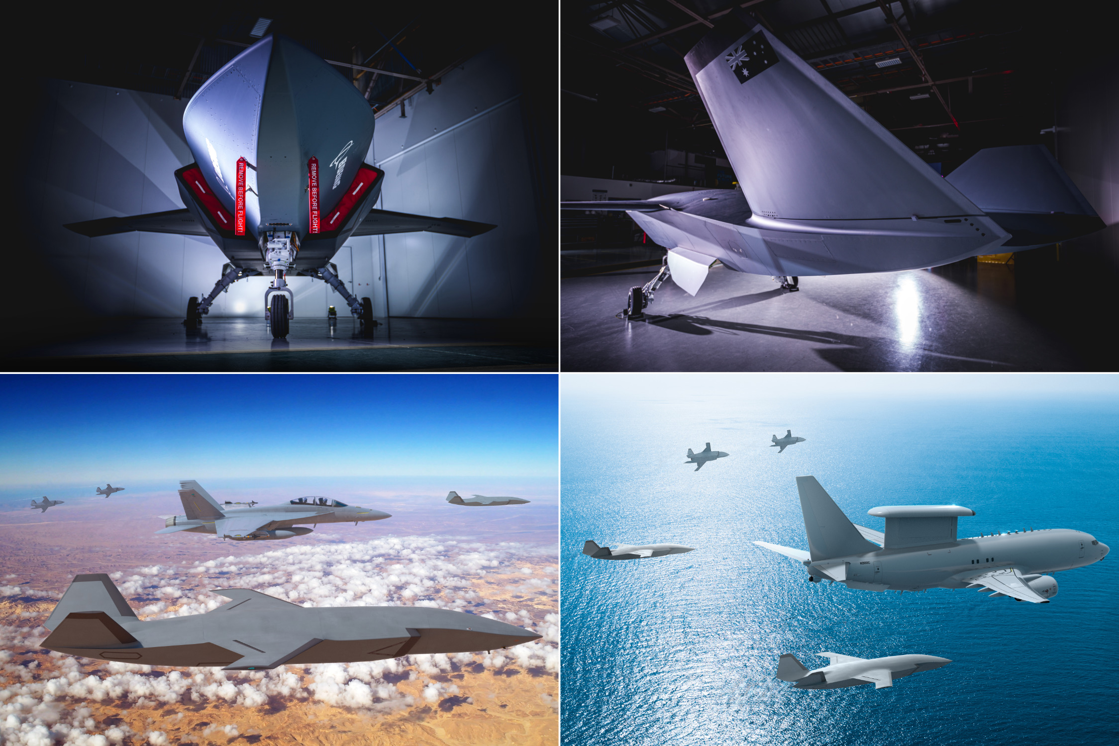 Boeing unveils Australia's first 'Loyal Wingman' military drone