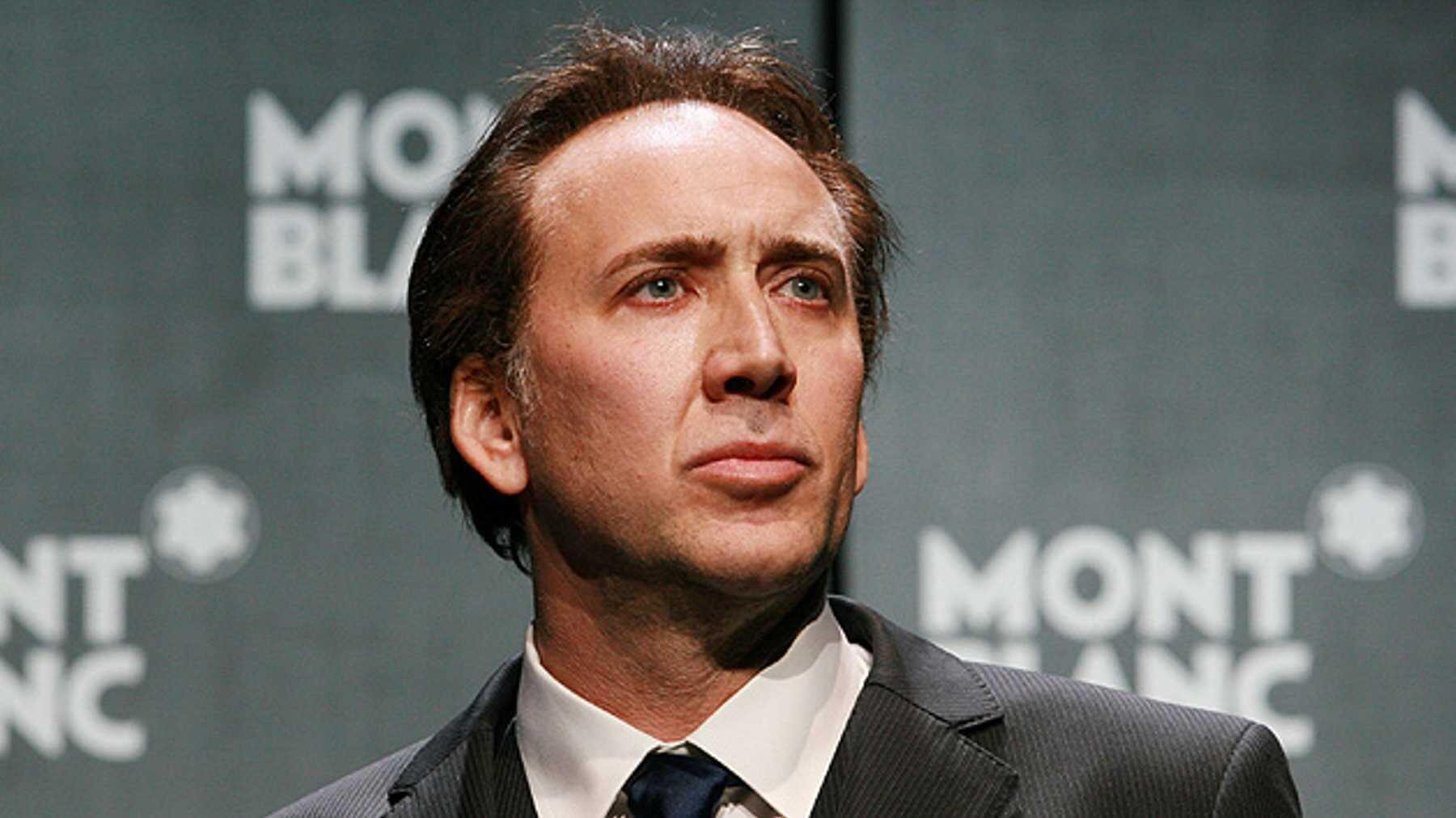Nicolas Cage to play Joe Exotic in scripted version of Netflix's Tiger King