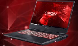 Origin packs a Core i9-10900KF desktop CPU into a gaming laptop