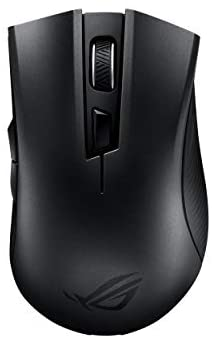 Asus ROG Strix Carry Portable Wireless + Bluetooth Ergonomic Optical Gaming Mouse