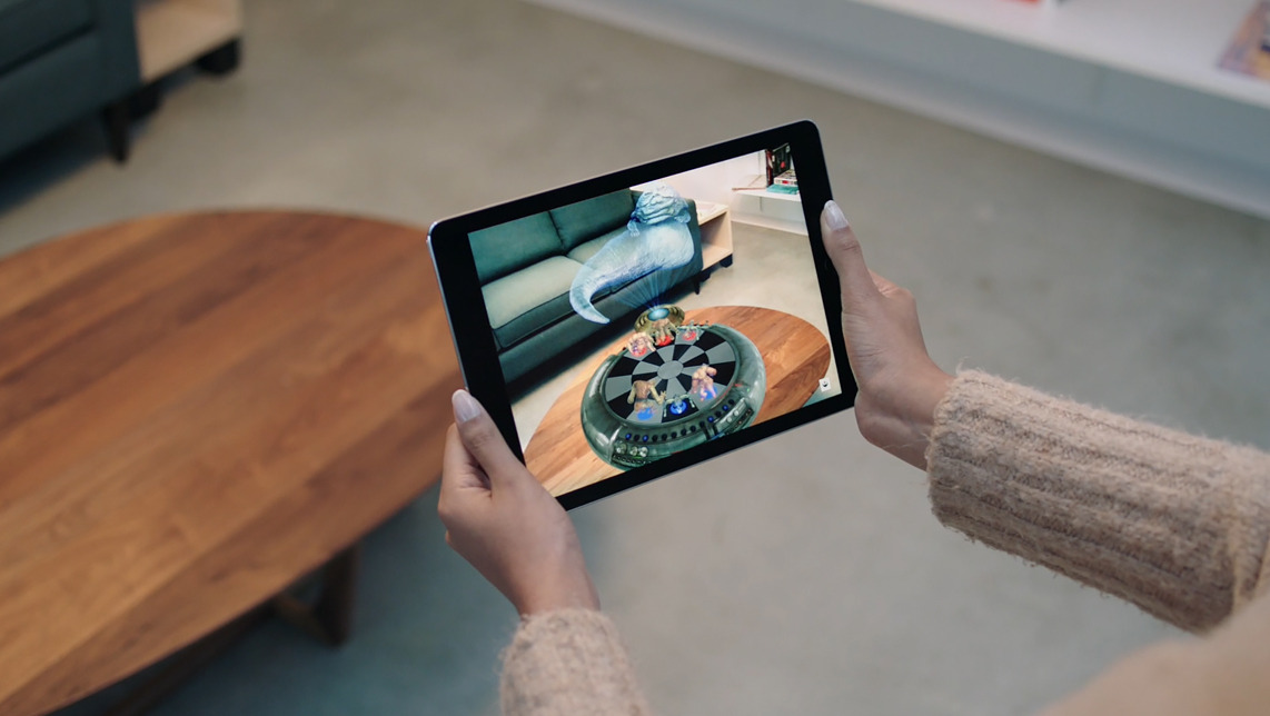 Read more about the article iOS 14 reveals 'Gobi' AR commerce app, Find My AR user feedback