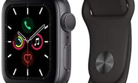 Apple Watch Series 5 (GPS, 40mm) – Space Gray Aluminum Case with Black Sport Band