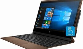 HP – Spectre Folio Leather 2-in-1 13.3″ Touch-Screen Laptop – Intel Core i7 – 8GB Memory – 256GB Solid State Drive – Cognac Brown