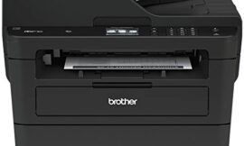 Brother MFCL2750DW Monochrome All-In-One Wireless Laser Printer, Duplex Copy & Scan, Amazon Dash Replenishment Enabled,Black