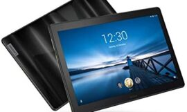 """Lenovo Smart Tab P10 10.1"""" Android Tablet, Alexa-Enabled Smart Device with Fingerprint Sensor and Smart Dock Featuring 4 Dolby Atmos Speakers – 64GB Storage with Alexa Enabled Charging Dock Included"""