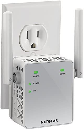 NETGEAR WiFi Range Extender EX3700 – Coverage up to 1000 sq.ft. and 15 devices with AC750 Dual Band Wireless Signal Booster & Repeater (up to 750Mbps speed), and Compact Wall Plug Design