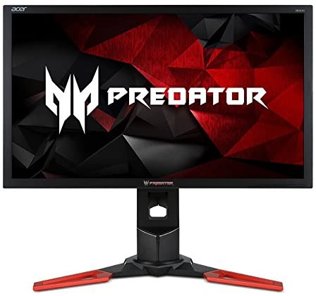 Acer Predator XB241H Bmipr 24-Inch Full HD 1920×1080 NVIDIA G-Sync Display, 144Hz, 2 x 2w speakers, HDMI & DP