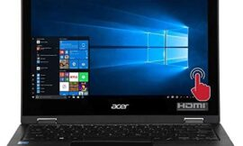 Acer Spin 1 SP111-33-P88S 11.6″ 2-in-1 Laptop Computer – Black