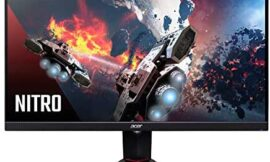 Acer Nitro XV273 Xbmiiprzx 27″ Full HD (1920 x 1080) IPS AMD Radeon FreeSync & G-SYNC Compatible Gaming Monitor,240Hz,VESA Certified DisplayHDR400,Up to 0.1ms Response Time (1xDP, 2xHDMI&4 x3.0 Ports)