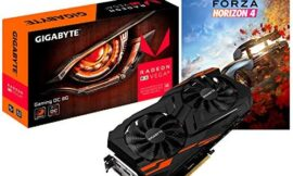 Gigabyte Radeon RX Vega 56 Gaming OC 8G Graphics Card with Forza Horizon 4, VR Ready, HDMI 2.0b x3/DisplayPort 1.4 x3, Built for Gaming Overclocking with WindForce Cooling System