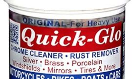 Quick-Glo – Original, 8 oz – Chrome Cleaner & Rust Remover Featured on Jay Leno's Garage Made in The USA & Non Toxic