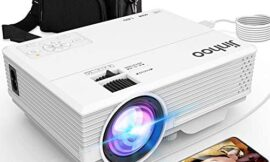Latest Technology to Phone Projector, Mini Video Projector with 4500 LUX, Synchronize Smartphone Screen, 1080P Supported, Compatible with TV Stick, HDMI, USB, VGA, AV [with Projector Case]