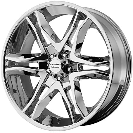 American Racing AR893 Mainline Chrome Machined Wheel (17×8″/6×139.7mm, +25mm offset)