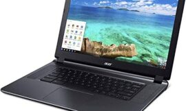 (Renewed) Acer CB3-532 15.6 inches HD Chromebook with 3x Faster WiFi, Intel Dual-Core Celeron N3060 upto 2.48GHz, 2GB RAM, 16GB SSD,HDMI,USB 3.0, Webcam, 12-Hrs Battery, Chrome OS