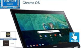 2020 Acer Chromebook Spin 15 2-in-1 15.6″ FHD Touchscreen Laptop Computer, Intel Pentium N4200 Quad-Core up to 2.5GHz, 4GB DDR4, 32GB eMMC, Sparkly Silver, Chrome OS, YZAKKA Mouse Pad + 32GB SD Card
