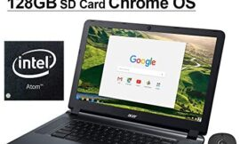 Newest Acer Chromebook 15 15.6 Inch Laptop for Business Student| Intel Atom x5 E8000| 4GB RAM| 16GB eMMC| WiFi| Bluetooth| HDMI| Chrome OS + NexiGo 128GB MicroSD Bundle