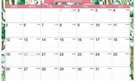 """2020-2021 Calendar – 18 Months Wall Calendar of 2020-2021, Jan. 2020 – Jun. 2021, 15"""" x 11.5"""", Two-Wire Binding, Ruled Blocks with Julian Dates, Perfect for Planning for Home or Office"""
