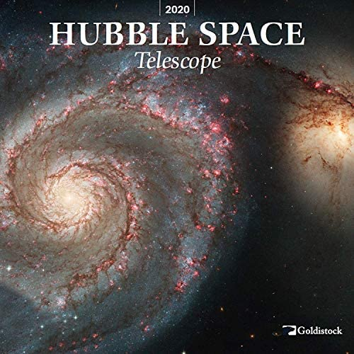 "Goldistock 2020 Large Wall Calendar -""Hubble Space Telescope"" – 12″ x 24″ (Open) – Thick & Sturdy Paper – – Expand Your World & Your Mind"