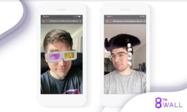 8th Wall launches Face Effects tool for AR facial animations
