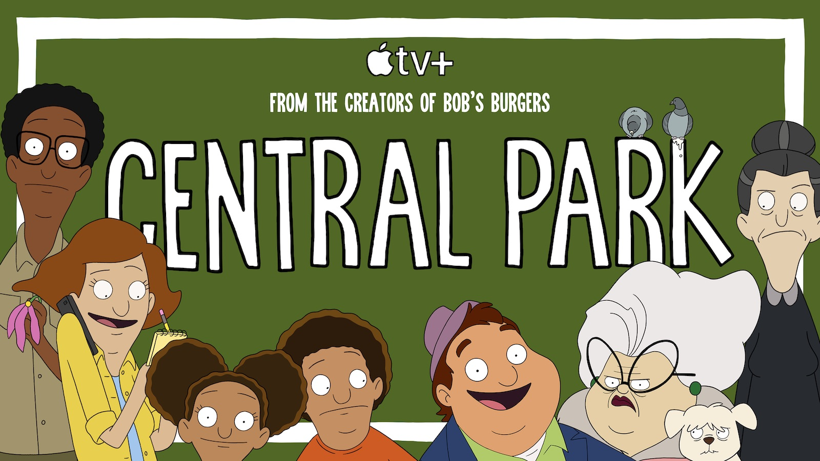 'Central Park' Debuts on Apple TV+: Animated Musical Comedy From Creators of 'Bob's Burgers'