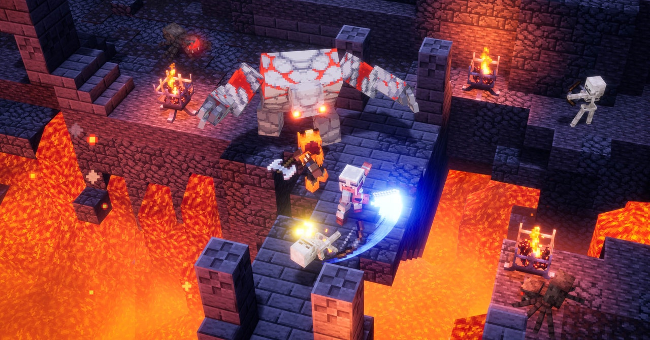 'Minecraft Dungeons' Makes Dungeon Crawlers Accessible to All