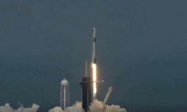 SpaceXsuccessfully launched its Crew Dragon mission toorbit