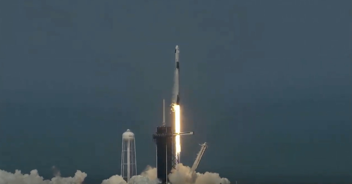 SpaceX successfully launched its Crew Dragon mission to orbit