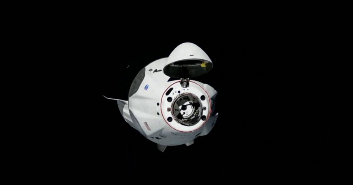 SpaceX's Crew Dragon docks successfully with ISS
