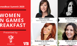 100+ women execs join the first virtual Women in Gaming Breakfast at GamesBeat 2020